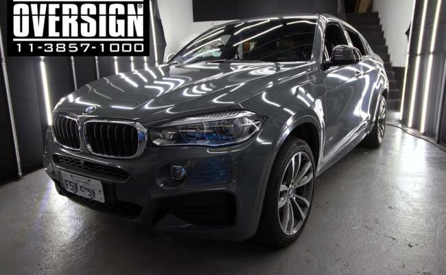 BMW X6 m, bmw x6, bmw x6 grey, nova bmw x6, envelopamento, oversign, grand brasil, v8, twinturbo, (8)