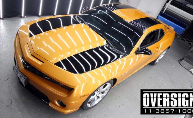 Camaro Laranja, Novo Camaro, Novo camaro laranja, envelopamento, envelopamento de carros, envelopamento sp, supreme wrapping film, oversign, wrap, (39)