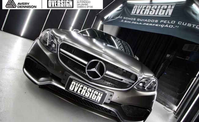 Mercedes e63, 363 amg, dark basalt, envelopamento, envelopamento de carros, oversign, envelopamento tecnico, supreme wrapping film, mercedes dark basalt, (37)