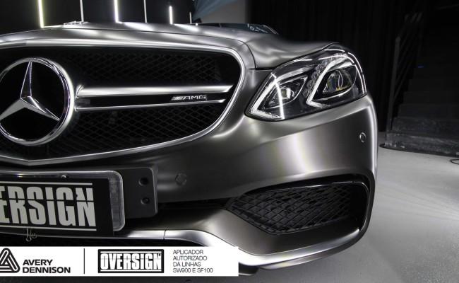 Mercedes e63, 363 amg, dark basalt, envelopamento, envelopamento de carros, oversign, envelopamento tecnico, supreme wrapping film, mercedes dark basalt, (42)