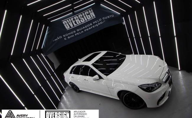 Mercedes e63, 363 amg, dark basalt, envelopamento, envelopamento de carros, oversign, envelopamento tecnico, supreme wrapping film, mercedes dark basalt, (8)
