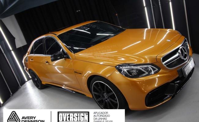Mercedes e63, mercedes laranja, e63 laranja, envelopamento, envelopamento de carros, supreme wrapping film, avery dennison, sw-900, oversign, wrap, wrap king,  (29)