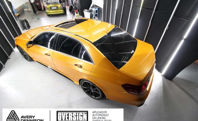 Mercedes e63, mercedes laranja, e63 laranja, envelopamento, envelopamento de carros, supreme wrapping film, avery dennison, sw-900, oversign, wrap, wrap king,  (40)
