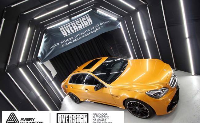 Mercedes e63, mercedes laranja, e63 laranja, envelopamento, envelopamento de carros, supreme wrapping film, avery dennison, sw-900, oversign, wrap, wrap king,  (42)