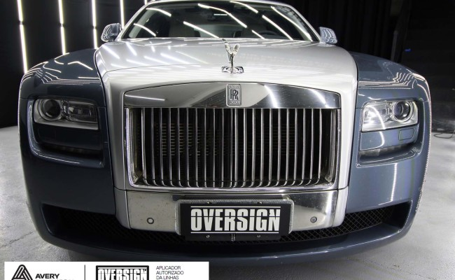 Rolls Royce, Rolls Royce Gosth, Rolls Royce Colorflow, Supreme wrapping film, oversign, carro luxuoso, envelopamento, envelopamento de carros, (12)