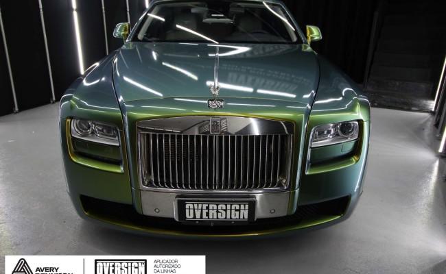 Rolls Royce, Rolls Royce Gosth, Rolls Royce Colorflow, Supreme wrapping film, oversign, carro luxuoso, envelopamento, envelopamento de carros, (35)