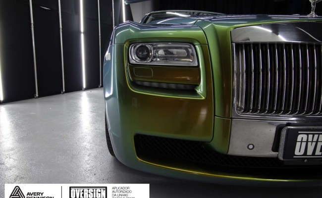 Rolls Royce, Rolls Royce Gosth, Rolls Royce Colorflow, Supreme wrapping film, oversign, carro luxuoso, envelopamento, envelopamento de carros, (36)