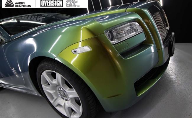 Rolls Royce, Rolls Royce Gosth, Rolls Royce Colorflow, Supreme wrapping film, oversign, carro luxuoso, envelopamento, envelopamento de carros, (37)