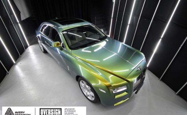 Rolls Royce, Rolls Royce Gosth, Rolls Royce Colorflow, Supreme wrapping film, oversign, carro luxuoso, envelopamento, envelopamento de carros, (38)