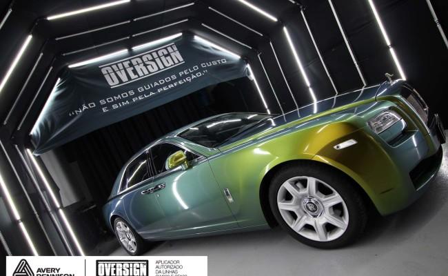 Rolls Royce, Rolls Royce Gosth, Rolls Royce Colorflow, Supreme wrapping film, oversign, carro luxuoso, envelopamento, envelopamento de carros, (39)