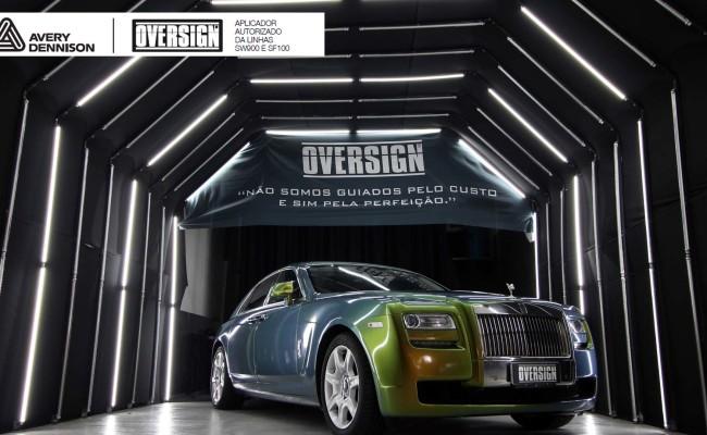 Rolls Royce, Rolls Royce Gosth, Rolls Royce Colorflow, Supreme wrapping film, oversign, carro luxuoso, envelopamento, envelopamento de carros, (43)