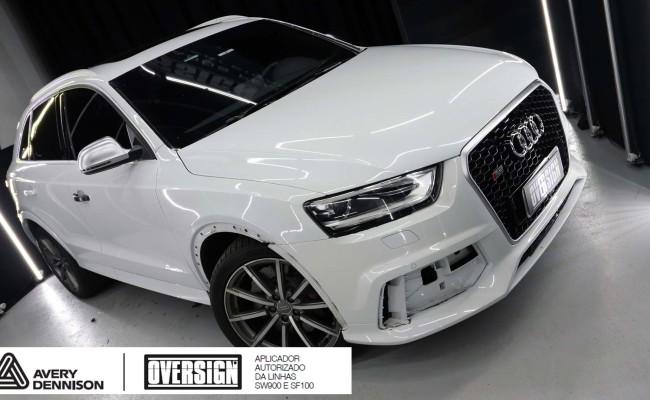 Audi, RSQ3, envelopamento, carmine red, audi rs, supreme wrapping film, oversign, envelopamento tecnico, useoversign, Roberto Vannucchi, (3)