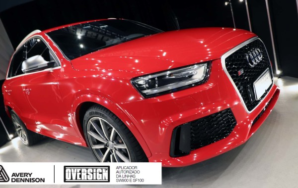 Wrap Audi RSQ3 Carmine Red