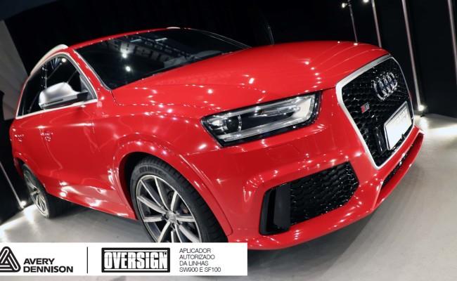 Audi, RSQ3, envelopamento, carmine red, audi rs, supreme wrapping film, oversign, envelopamento tecnico, useoversign, Roberto Vannucchi, (33)