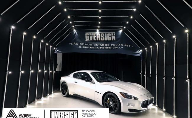Maserati, granTurismo, envelopamento, energetic yellow satin, oversign, envelopamento preço, via italia, novo maserati, exoshield, (01)