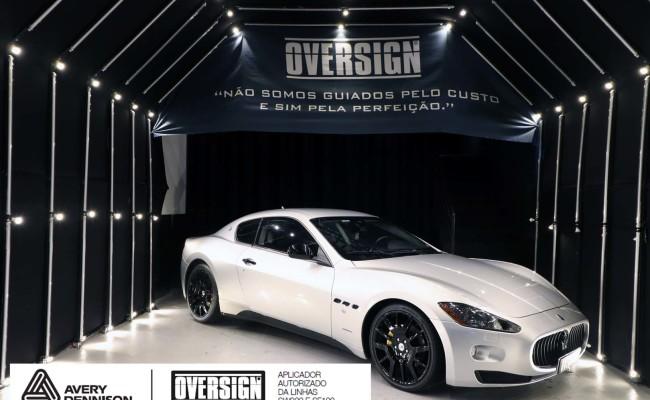 Maserati, granTurismo, envelopamento, energetic yellow satin, oversign, envelopamento preço, via italia, novo maserati, exoshield, (2)