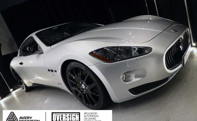 Maserati, granTurismo, envelopamento, energetic yellow satin, oversign, envelopamento preço, via italia, novo maserati, exoshield, (4)