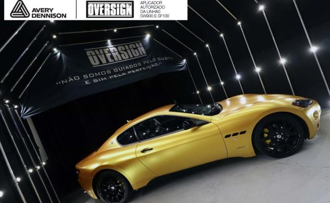 Maserati, granTurismo, envelopamento, energetic yellow satin, oversign, envelopamento preço, via italia, novo maserati, exoshield, (50)