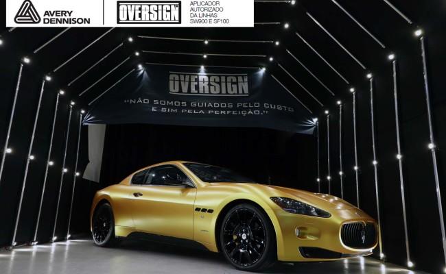 Maserati, granTurismo, envelopamento, energetic yellow satin, oversign, envelopamento preço, via italia, novo maserati, exoshield, (51)