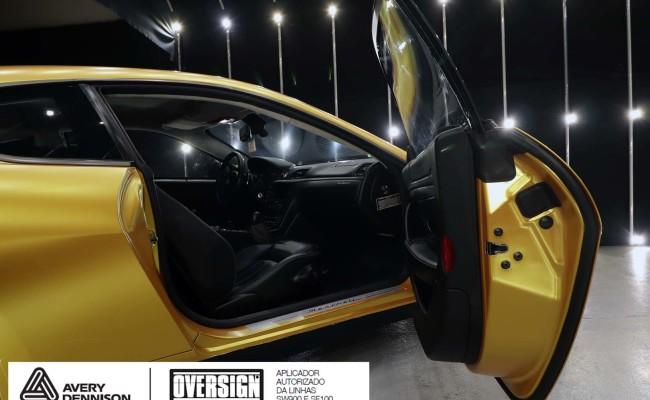 Maserati, granTurismo, envelopamento, energetic yellow satin, oversign, envelopamento preço, via italia, novo maserati, exoshield, (52)