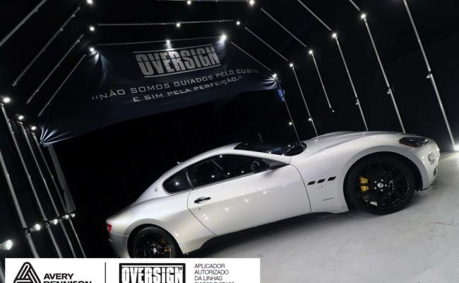 Maserati, granTurismo, envelopamento, energetic yellow satin, oversign, envelopamento preço, via italia, novo maserati, exoshield, (5)