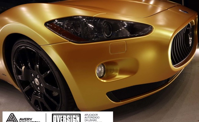 Maserati, granTurismo, envelopamento, energetic yellow satin, oversign, envelopamento preço, via italia, novo maserati, exoshield, (64)