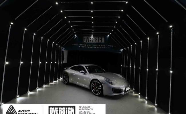 Porsche 911, porsche 911 Carrera, carrera 911, envelopamento, envelopamento de carros, oversign signature, dark basalt, envelopamento dark basalt, (01)