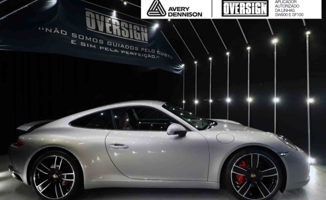 Porsche 911, porsche 911 Carrera, carrera 911, envelopamento, envelopamento de carros, oversign signature, dark basalt, envelopamento dark basalt, (10)