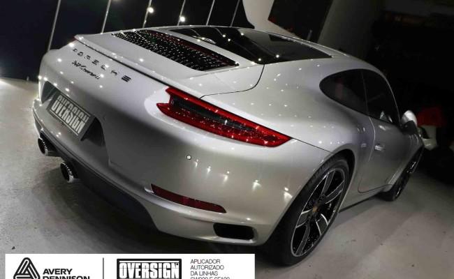Porsche 911, porsche 911 Carrera, carrera 911, envelopamento, envelopamento de carros, oversign signature, dark basalt, envelopamento dark basalt, (27)