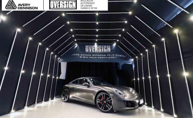 Porsche 911, porsche 911 Carrera, carrera 911, envelopamento, envelopamento de carros, oversign signature, dark basalt, envelopamento dark basalt, (68)