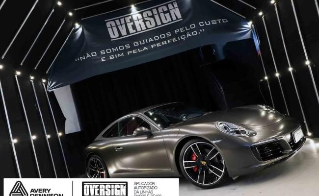 Porsche 911, porsche 911 Carrera, carrera 911, envelopamento, envelopamento de carros, oversign signature, dark basalt, envelopamento dark basalt, (70)