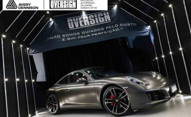 Porsche 911, porsche 911 Carrera, carrera 911, envelopamento, envelopamento de carros, oversign signature, dark basalt, envelopamento dark basalt, (71)