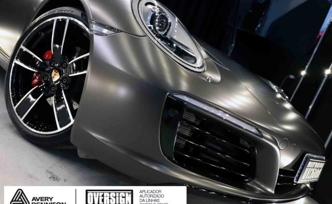 Porsche 911, porsche 911 Carrera, carrera 911, envelopamento, envelopamento de carros, oversign signature, dark basalt, envelopamento dark basalt, (73)